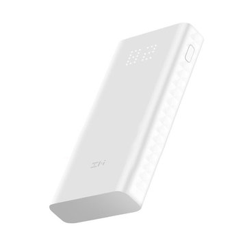 Xiaomi ZMI 20000mAh Quick Charge 3.0 Charger Power Bank with Dual Input and Output