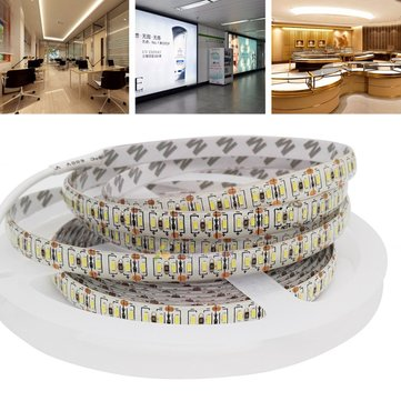 5M SMD3014 Waterproof High Brightness DC12V 1020LEDs Strip Light DIY Home Lamp