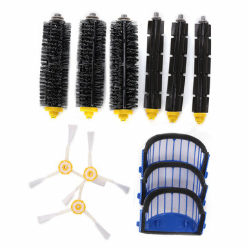 Accessory Replacement Kit Brushes Brushes 3 Armed Aero Vac Filter for iRobot Roomba 600 Series
