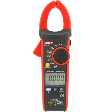 UNI-T UT216C 600A True RMS Digital Clamp Meter Multimeter Auto Range with Frequency Capacitance Temperature NCV Test Megohmmeter