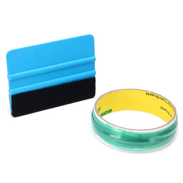 10M Knifeless Cutting Tape Finishing Line Plus with Squeegee Tool for Vinyl Wrap