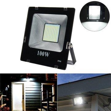 100W SMD5630 LED Aluminium Flood Light Outdoor IP66 Waterproof Yard Garden Landscape Lamp AC180-265V