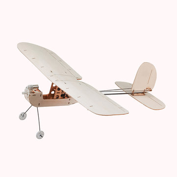 Keplar K1 316mm Wingspan Mini Balsa Wood Micro Indoor RC Airplane Model