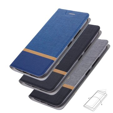 Bakeey™ Flip Cloth Pattern + PU Leather Full Body Protective Case for ASUS Zenfone 4 Max ZC554KL