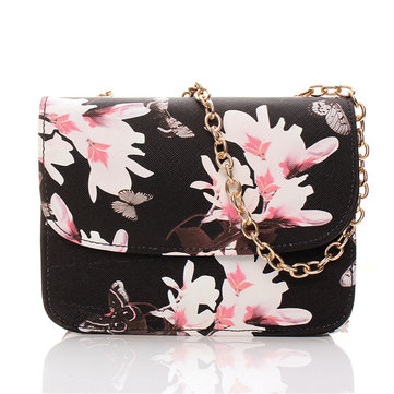 Women Butterfly Chain Messenger Bags Girls Flower Design Shoulder Bags Crossbody Bags