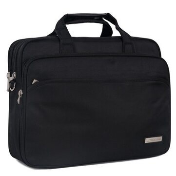 The Oxford Briefcase 14-inch business laptop bag, portable shoulder-carrying, multi-layer bag