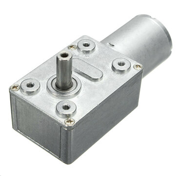 DC 12V 35/60/65/110/220rpm Worm Gear Box Reduction Motor