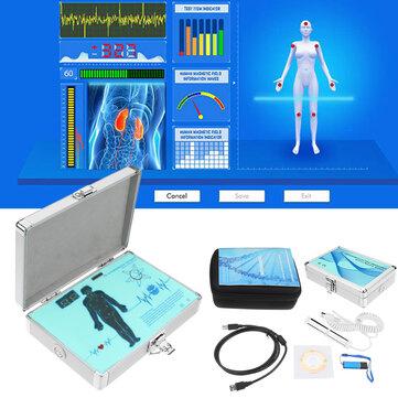 الإنجليزية الإسبانية Quantum Magnetic الرنين الصحة Body Analyzer الأحدث