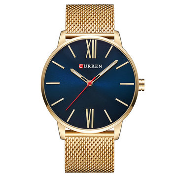 CURREN 8238 Luxury Ultralight Simple Dial Men Wrist Watch