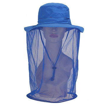 Summer Hat 360 Angle Anti-mosquito Sunscreen Quick-drying Multi-function Sunmulti-color optional