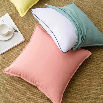 Xiaomi Pure Cotton Cushion Natural environmental Cover Pillow Decorative Throw Pillow For Home Travel