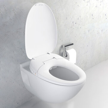 Xiaomi Whale Spout Washing Intelligent Temperature APP Smart Toilet Cover Seat with LED Night Light