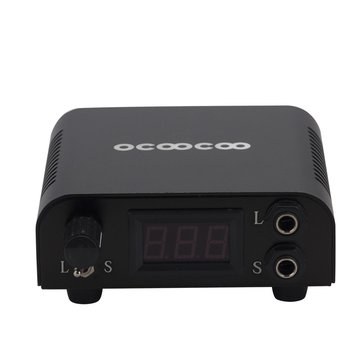 OCOOCOO D750 High End Power Supply CE + RoHS Certification For Tattoo Machine Universal