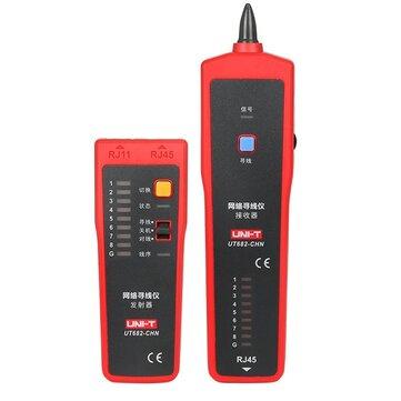 UNI-T UT682 RJ11 RJ45 Wire Tracker Line Finder Telephone Wire ...