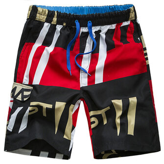 Summer Casual Loose Quick Dry Breathable Beach Board Shorts for Men