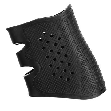 Black Slip on Rubber Tactical Grip Glove Sleeve Grip Cover for S&W M&P Series