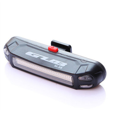 GUB M-38C 100LM Bicycle USB Rechargeable LED Taillight Ultralight Multifunction Warning Night Light