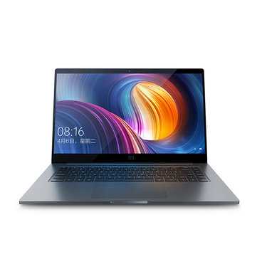 Original Xiaomi Notebook Pro Win10 15.6 Inch Intel Core i7-8550U Quad Core 16/256GB Fingerprint Sensor Laptop Laptops & Accessories from Computer & Networking on banggood.com