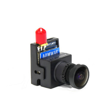 AOMWAY FPV 5.8G 8CH 200mW AV Transmitter Integrated 700TVL CMOS HD Camera For Aerial Photo