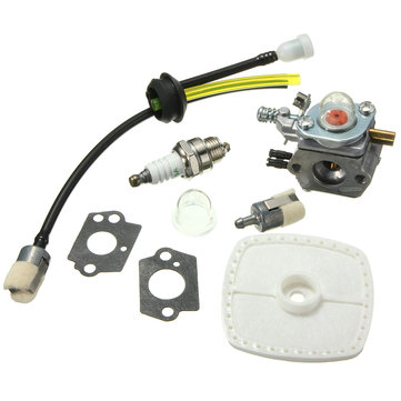Carburetor with Fuel Filter Kit For Zama C1U-K52 C1U-K29 C1U-K47 ECHO SRM2100 GT2000