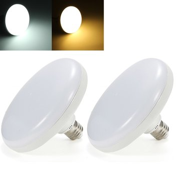 AC220V 15W 28W E27 Pure White Warm White UFO LED Spotlight Bulb for Corridor Home Decoration