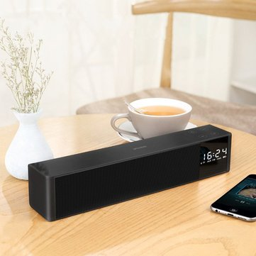 IFKOO LP-C16 Alarm Clock FM Radio Touch Control TF Card 3.5mm Wireless Bluetooth Speaker with Mic