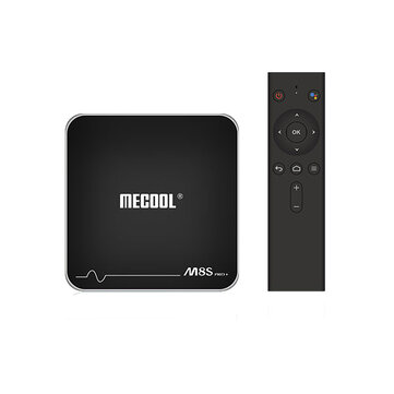 Mecool M8S PRO PLUS ATV Amlogic S905W 2GB RAM 16GB ROM Bluetooth 4.2 TV Box with Voice Input Control