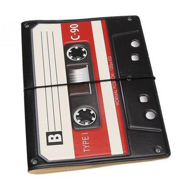 PVC  Passport Holder 3D Tape Recorder Card Holder Travel Passport Covers