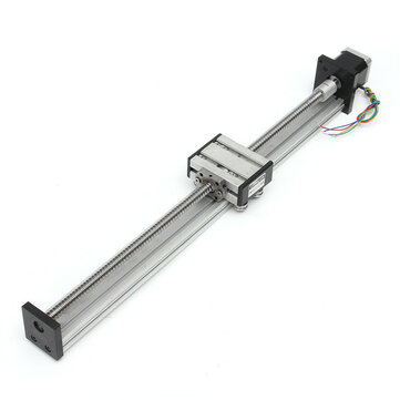 1204 Ball Screw Linear Slide Stroke Linear Stage 400 Long Stage Actuator With 42mm Stepper Motor