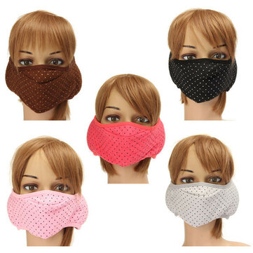 Cotton Ear Face Mouth Ear Muffs Masks Anti-Dust Protective Motorcycle Cycling Unisex