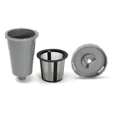K-Cup Reusable Coffee Filter Suit Refillable Holder For Keurig Machines