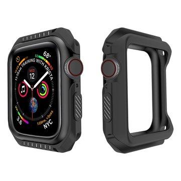 40 / 44mm TPU + PC cubierta de reloj Caso Protector Caso 40mm 44mm para Apple Watch 4