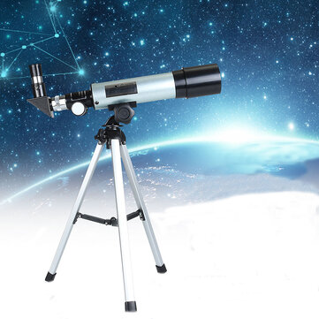 360x50mm Astronomical Telescope Camping Monocular With Portable Tripod Space Spotting Scope