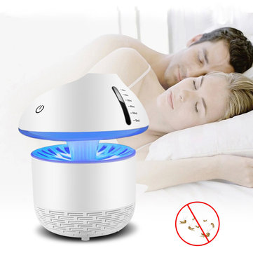5W USB LED Electronic Mosquito Killer Humidifier Light Bug Trap Insect Repellent Lamp Zapper