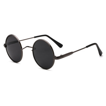 Men Women Outdoor Casual Metal Ground Sunglasses Fashion Light Polarized Glasses