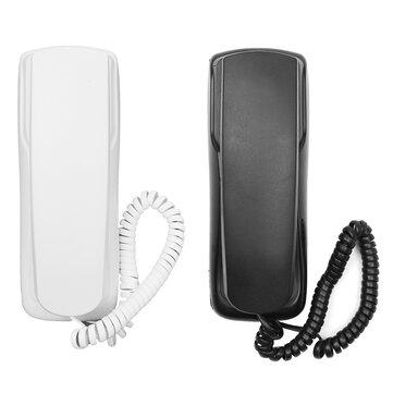 1 Pcs 48 V Téléphone Standard Cordonné Téléphone Analogique Bureau Montage Flash Flash Redial Pour Bureau Accueil