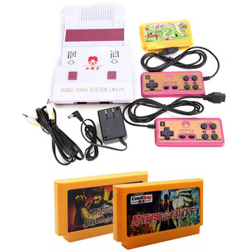 Subor D99 8 Bit Classic TV Game Console with 400 in 1 and 198 in 1Game Cartridges