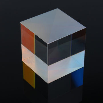 33x33x34mm Defective Cross Optical Glass Dichroic X-Cube Prism RGB Combiner Splitter Prism