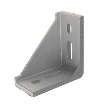 Suleve™ AJ40 40×80mm Aluminum Angle Corner Joint Connector 90 degrees 4080 Series Aluminum Profile