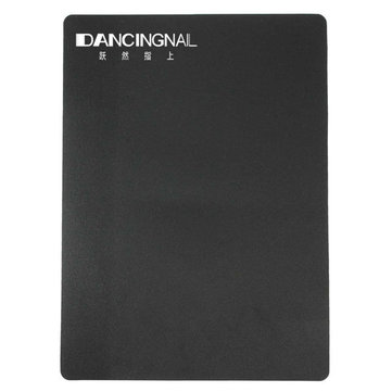 Plastic Nail Painting Practice Sketchpad Drawing Board Black Repeatable