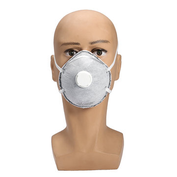 20Pcs Cotton Face Mask Safety disposable Valved Dust Painting Welding Respirator