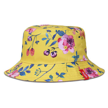 NUZADA Unisex Print Double-Sided Wear Bucket Hat