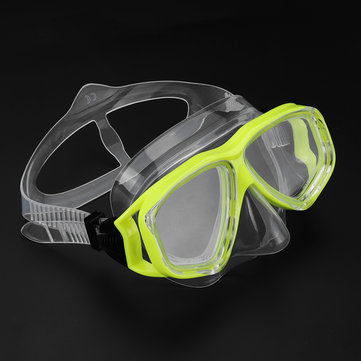 US$12.43 Adjustable Glasses Silicone Swimming Diving Scuba Anti-Fog Goggles Mask Snorkel Brace & Support from Health & Beauty on banggood.com