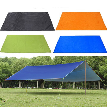 ₹1,381.39 210x300cm Outdoor Camping Tent Sunshade Rain Sun UV Beach Canopy Awning Shelter Beach Picnic Mat Ground Pad Camping from Sports & Outdoor on banggood.com