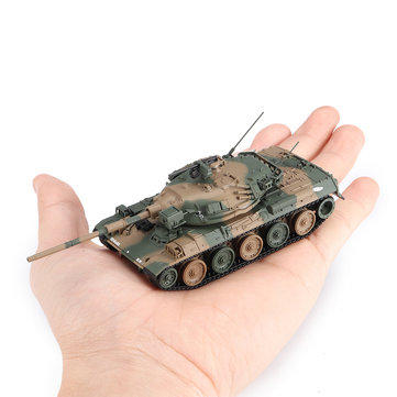 1/72 Diecast Tank Japanese Type 74G Modern Military Model