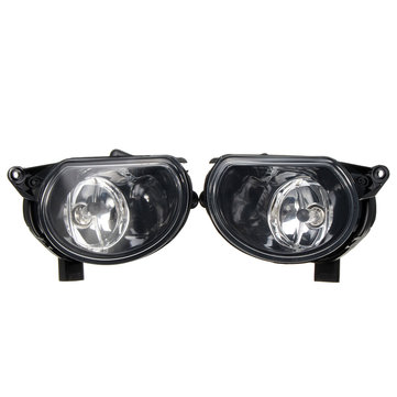 Pair Front(R&L) Bumper Halogen Clean Fog Lights Lamps For Audi Q7/A3 8P0941699A