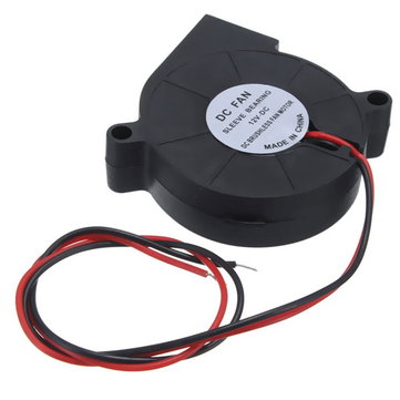 5Pcs 3D Printer 12V DC 50mm Blow Radial Cooling Fan