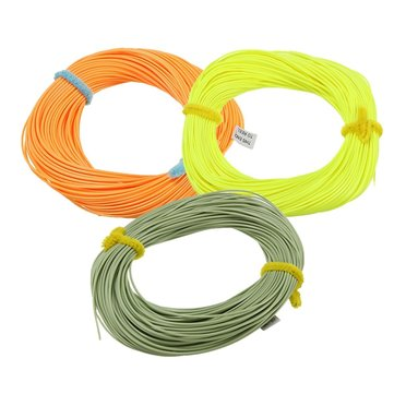 ZANLURE 30m/118 Inch Nylon Wire Fly Fishing Lines DT3/4/5/6/7/8/9 Floating Fly Lines