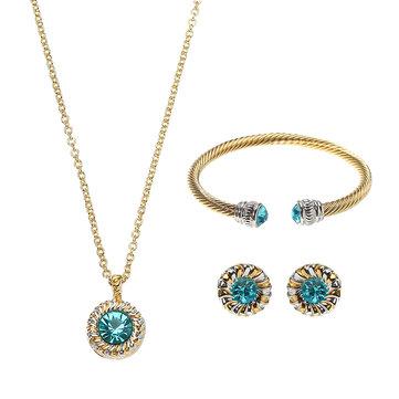 JASSY Luxury Jewelry Set Gemstone Best Gift For Women