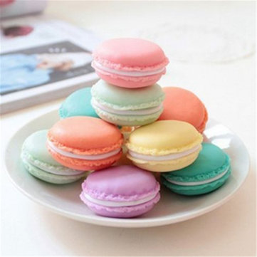 Honana BD-534 Cute Candy Color Macaron Mini Birthday Gift Box Waterproof Storage Jewelry Rings Pill Box